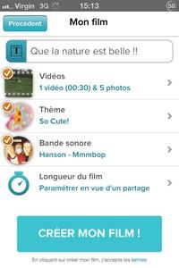 IMG 4678 L'application gratuite du Jour : Magisto