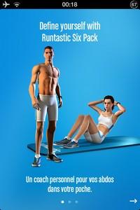 IMG 4726 L'application gratuite du Jour : Runtastic Six Pack