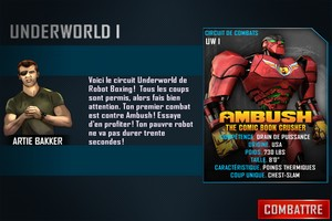 IMG 4864 L'application gratuite du Jour : Real Steel World Robot Boxing