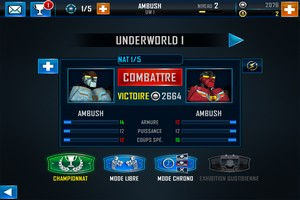 IMG 4868 L'application gratuite du Jour : Real Steel World Robot Boxing