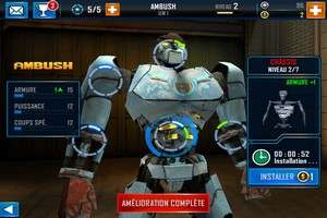IMG 4869 L'application gratuite du Jour : Real Steel World Robot Boxing
