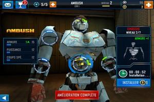 IMG 4869 L'application gratuite du Jour : Real Steel World Robot Boxing
