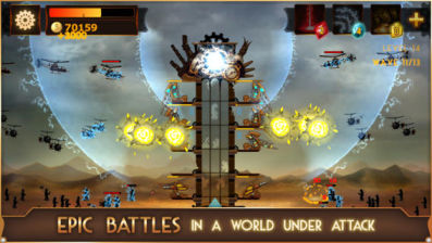 SteamPunk Tower Les sorties App Store du jour : SteamPuck Tower, Cam7...
