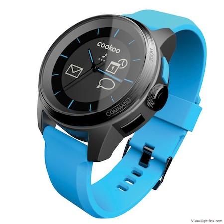Test Cookoo 002 Test de la montre Cookoo   une montre intelligente connectée à liPhone (129,99€)