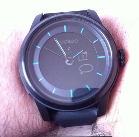 Test Cookoo 005 Test de la montre Cookoo   une montre intelligente connectée à liPhone (129,99€)