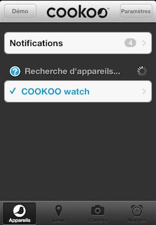 Test Cookoo 007 Test de la montre Cookoo   une montre intelligente connectée à liPhone (129,99€)