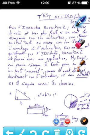 Test IRISNotes 004 Test de lIRISNotes Executive 2 : Un Stylet tactile impresionnant ! (149€)