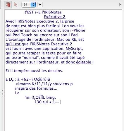 Test IRISNotes 007 Test de lIRISNotes Executive 2 : Un Stylet tactile impresionnant ! (149€)