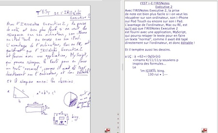 Test IRISNotes 008 Test de lIRISNotes Executive 2 : Un Stylet tactile impresionnant ! (149€)