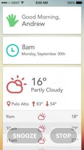Les sorties App Store du jour : Fantastical 2, Today   Wake Up, ...