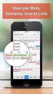 calendars screen  Les mises à jour d'applications existantes AppStore du jour : Calendars, Launcher Pro...