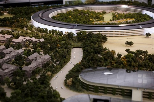campus 2 cupertino Apple 500x333 Être stagiaire chez Apple...