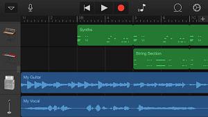 garageband screen opt Les mises à jour d'applications AppStore du jour : Spécial Apple