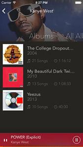gmusic 2 screen  Les mises à jour d'applications existantes AppStore du jour : gMusic 2, Carrot...