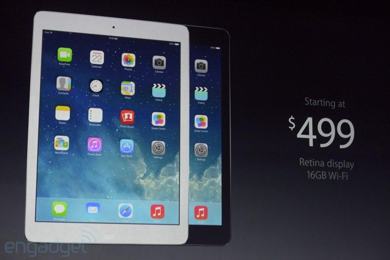 ipad air apple keynote Keynote : Tout savoir sur les nouveaux iPad