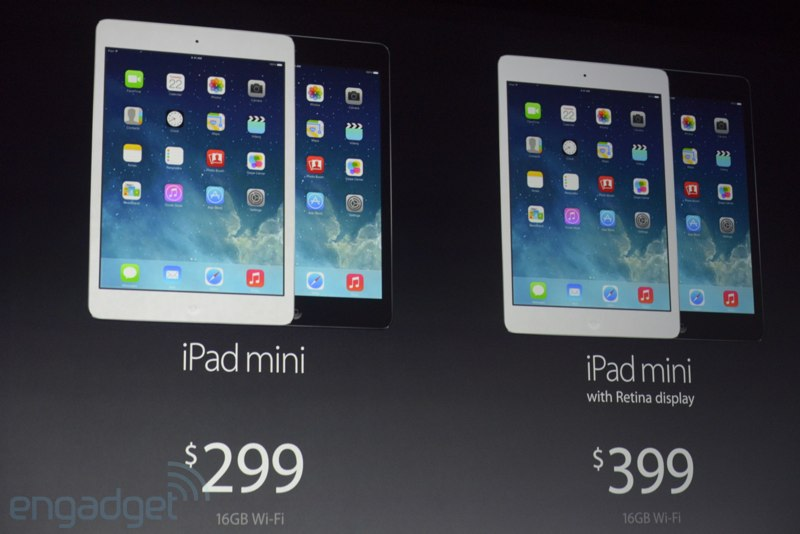 ipad mini 2 keynote apple Keynote : Tout savoir sur les nouveaux iPad
