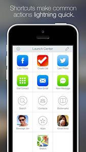 launch center pro  Les mises à jour d'applications existantes AppStore du jour : Calendars, Launcher Pro...
