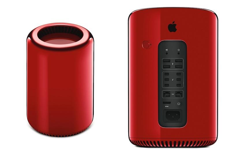 mac pro rouge Un Mac Pro rouge pour la bonne cause