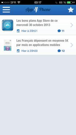 photo 31 10 2013 03 17 21 App4Phone version 5 : Quoi de neuf ?
