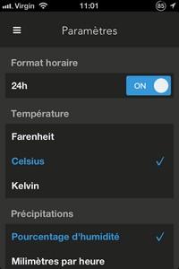 2013 11 03 11.01 L'application gratuite du Jour : Nice Weather 2