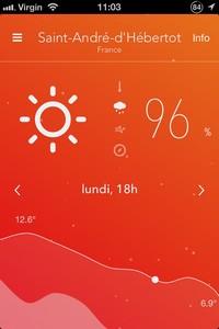 2013 11 03 11.032 L'application gratuite du Jour : Nice Weather 2