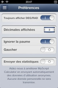 2013 11 03 20.47 L'application gratuite du Jour : MyScript Calculator