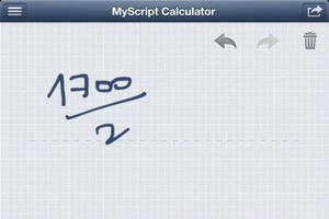2013 11 03 20.53 L'application gratuite du Jour : MyScript Calculator