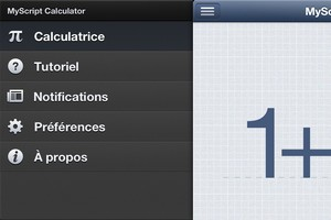 2013 11 03 21.18 L'application gratuite du Jour : MyScript Calculator