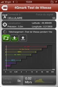 2013 11 07 15.04 L'application gratuite du Jour : 4GMark   Test de la vitesse de connexion