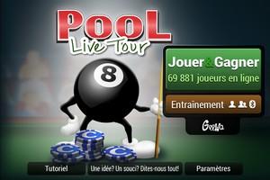 2013 11 09 20.41 L'application gratuite du Jour : Pool Live Tour Mobile