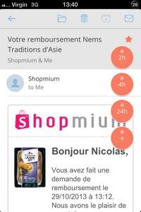 2013 11 17 13 L'application gratuite du Jour : CloudMagic   Mail App