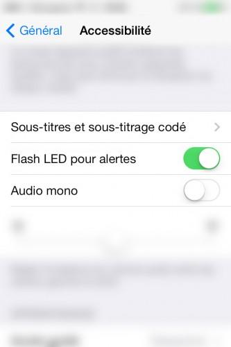 Alertes Led 333x500 Astuce iOS : les 3 astuces pratiques du jour pour iPhone