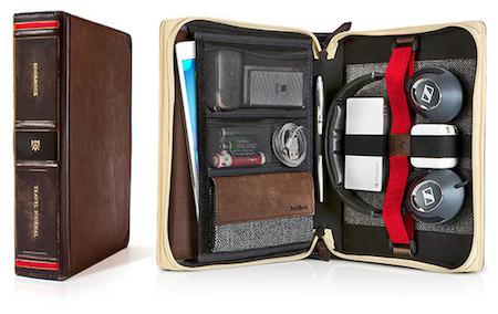Bookbook TravelJournal 002 TravelJournal de TwelveSouth : Létui idéal pour transporter tous vos accessoires !