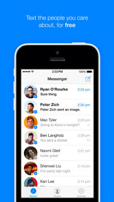 FB Mess Les mises à jour d'applications AppStore du jour : Facebook Messenger, iBooks
