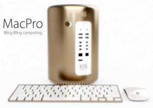 MacPro Or 1 300x212 Mac Pro : la couleur dorée juste pour le plaisir des yeux