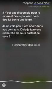 Siri Noel 175x300 Humour : Siri ne peut appeler le père Noël
