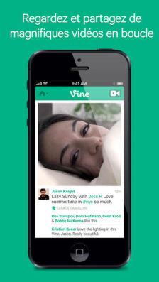 Vine FR Les mises à jour d'applications AppStore du jour : Dropbox, Vine
