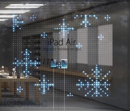 apple store noel 2 500x426 Les Apple Store brilleront pour Noël