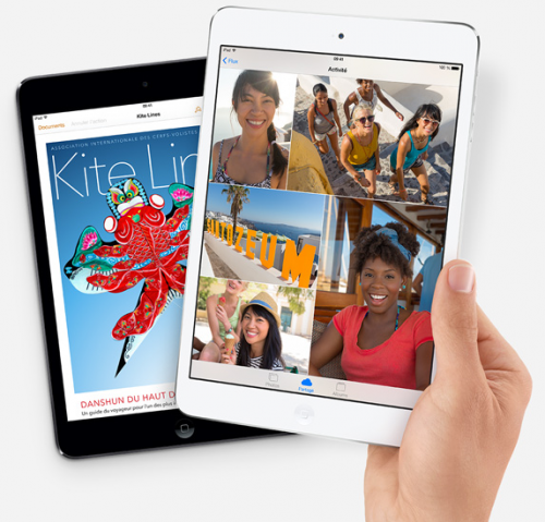 iPad Air 500x479 Un iPad avec une résolution de 4K ?