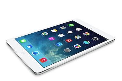 iPad Mini Retina Le nouvel iPad Mini Retina est disponible sur lApple Store (399€)