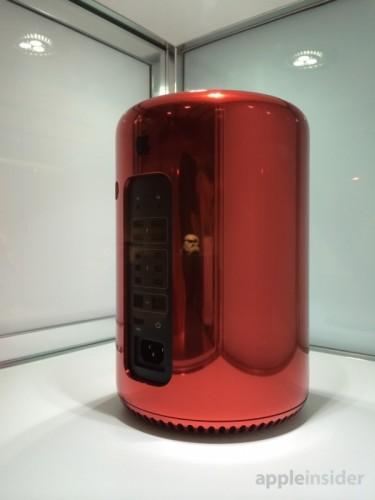mac pro rouge 2 375x500 Le Mac Pro RED pour 977 000$ !