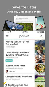 pocket 5 opt Les mises à jour d'applications AppStore du jour : Youtube Capture, Pocket 5