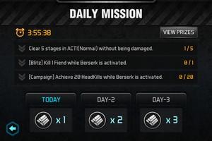 2013 12 09 21.04 L'application gratuite du Jour : Gun Zombie 2