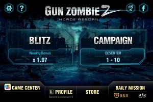 2013 12 09 21.54 L'application gratuite du Jour : Gun Zombie 2