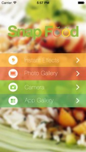 Les sorties App Store du jour : SnapFood, Doctor Kids, ...