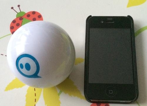 Sphero2 003 Test du Sphero 2.0 : Un robot dun autre genre, télécommandé depuis liPhone !