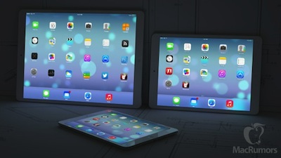 iPad Maxi taille Un iPad et iPhone XXL prévus pour 2014?
