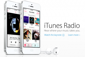 itunes radio 300x202 iTunes Radio : bientôt une application ?