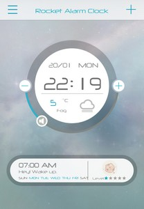 11 L'application gratuite du Jour : Rocket Alarm Sleep if u can