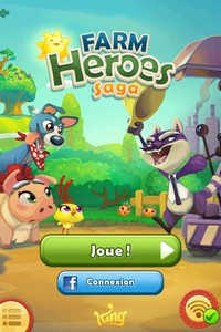 2014 01 03 09.20 L'application gratuite du Jour : Farm Heroes Saga   Un Hit en puissance